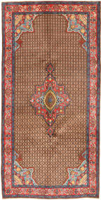 Koliai Rug 158X320 Authentic  Oriental Handknotted Brown/Dark Red (Wool, Persia/Iran)