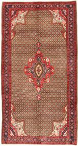 Koliai Teppe 158X295 Ekte Orientalsk Håndknyttet Brun/Mørk Rød (Ull, Persia/Iran)