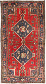 Koliai Rug 149X276 Authentic  Oriental Handknotted Hallway Runner  Light Brown/Dark Blue (Wool, Persia/Iran)