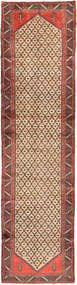 Koliai Tæppe 98X386 Ægte Orientalsk Håndknyttet Tæppeløber Lysebrun/Brun (Uld, Persien/Iran)