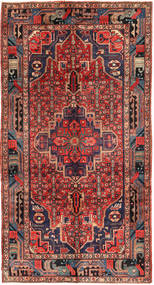 Koliai Rug 152X283 Authentic  Oriental Handknotted Hallway Runner  Brown/Dark Red (Wool, Persia/Iran)