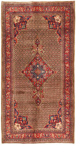 Koliai Rug 158X308 Authentic  Oriental Handknotted Hallway Runner  Dark Red/Light Brown (Wool, Persia/Iran)