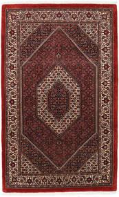 Bidjar Takab/Bukan Matta 114X184 Äkta Orientalisk Handknuten Mörkröd (Ull/Silke, Persien/Iran)