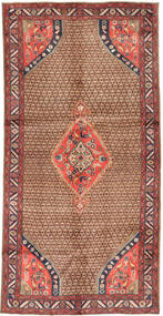 Koliai Rug 148X291 Authentic  Oriental Handknotted Hallway Runner  Brown/Light Brown (Wool, Persia/Iran)