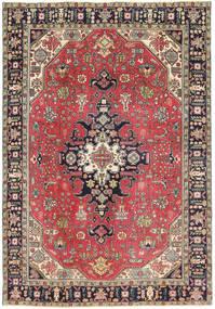Tabriz Patina Matto 193X280 Itämainen Käsinsolmittu Violetti/Tummanharmaa (Villa, Persia/Iran)