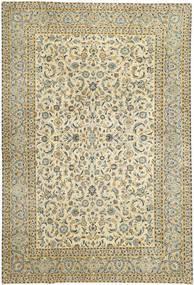 Keshan Patina Rug 290X380 Authentic  Oriental Handknotted Light Brown/Beige Large (Wool, Persia/Iran)