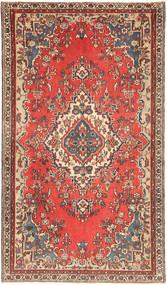Hamadan Patina Matto 140X248 Itämainen Käsinsolmittu Tummanpunainen/Ruskea (Villa, Persia/Iran)