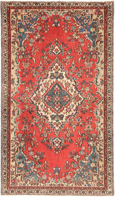Hamadan Patina Tæppe 140X248 Ægte Orientalsk Håndknyttet Mørkerød/Brun (Uld, Persien/Iran)