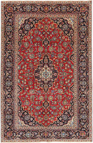 Keshan Patina Rug 193X298 Authentic  Oriental Handknotted Dark Red/Brown (Wool, Persia/Iran)