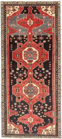 Hamadan Patina Matto 123X284 Itämainen Käsinsolmittu Käytävämatto Tummanruskea/Vaaleanruskea (Villa, Persia/Iran)