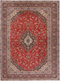 Keshan Patina Rug 284X375 Authentic  Oriental Handknotted Dark Red/Dark Brown Large (Wool, Persia/Iran)