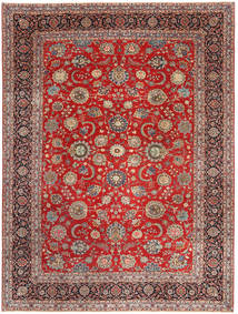 Keshan Patina Rug 288X380 Authentic  Oriental Handknotted Dark Red/Rust Red Large (Wool, Persia/Iran)