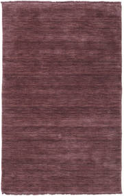 Handloom Fringes - Deep Wine Rug 100X160 Modern Dark Purple/Dark Brown/Light Purple (Wool, India)