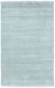 Handloom fringes - Ice Blue carpet CVD19120