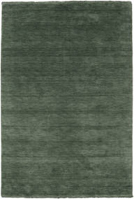 Handloom Fringes - Forest Green Rug 160X230 Modern Dark Grey/Olive Green (Wool, India)