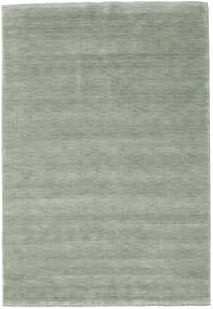 Handloom Fringes - Soft Teal Rug 160X230 Modern Light Grey (Wool, India)