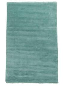 Handloom Fringes - Aqua Rug 160X230 Modern Turquoise Blue/Dark Turquoise   (Wool, India)