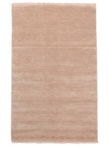 Handloom Fringes - Rose Tendre Tapis 160X230 Moderne Rose Clair (Laine, Inde)