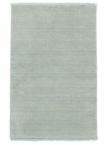 Handloom fringes - Ice Blue tæppe CVD19118