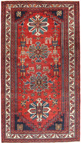 Lori Patina Rug 172X300 Authentic  Oriental Handknotted Rust Red/Dark Red (Wool, Persia/Iran)