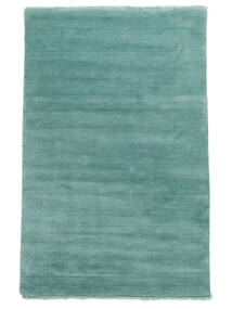 Handloom fringes - Aqua carpet CVD19161