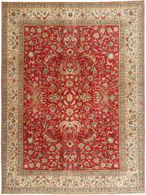 Tabriz Patina Tapis 292X392 D'orient Fait Main Marron Clair/Rouille/Rouge Grand (Laine, Perse/Iran)