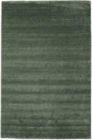 Tapis Handloom fringes - Vert forêt CVD19290