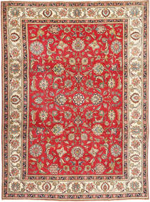 Tabriz Patina Rug 245X335 Authentic  Oriental Handknotted Light Brown/Brown (Wool, Persia/Iran)