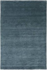 Тканый Fringes - Deep Petrol Ковер 200X300 Современный Синий/Темно-Синий (Шерсть, Индия)