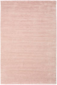 Handloom Fringes - Soft Rose Rug 300X400 Modern Light Pink Large (Wool, India)