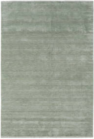 Handloom fringes - Soft Teal rug CVD19129