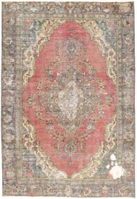 カラード ヴィンテージ 絨毯 190X276 モダン 手織り 薄い灰色/薄茶色 (ウール, ペルシャ/イラン)