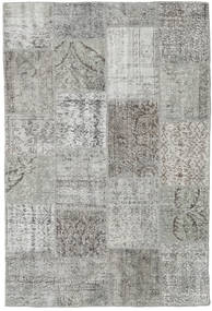 Patchwork Rug 156X234 Authentic  Modern Handknotted Light Grey/Dark Grey (Wool, Turkey)