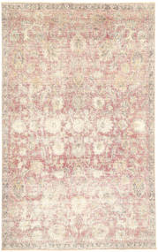 Colored Vintage Rug 180X290 Authentic  Modern Handknotted Beige/Light Grey (Wool, Persia/Iran)