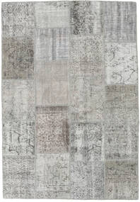 Patchwork Rug 157X229 Authentic  Modern Handknotted Light Grey (Wool, Turkey)