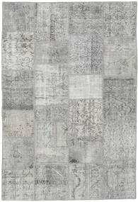 Patchwork Rug 156X231 Authentic  Modern Handknotted Light Grey/Beige (Wool, Turkey)