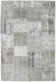 Patchwork Rug 158X230 Authentic  Modern Handknotted Light Grey (Wool, Turkey)