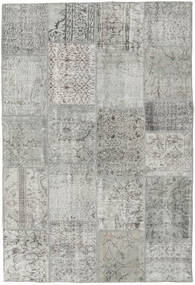 Patchwork Rug 156X232 Authentic  Modern Handknotted Light Grey (Wool, Turkey)