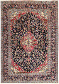 Keshan Rug 296X407 Authentic  Oriental Handknotted Light Brown/Dark Purple Large (Wool, Persia/Iran)