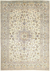 Keshan Rug 295X420 Authentic  Oriental Handknotted Light Grey/Beige Large (Wool, Persia/Iran)