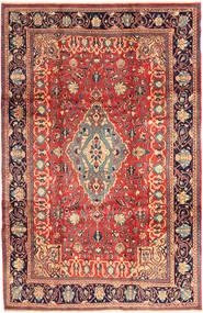 サルーク 絨毯 218X336 オリエンタル 手織り 茶/濃いグレー (ウール, ペルシャ/イラン)