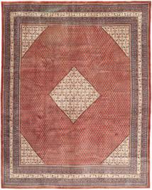 Sarough Mir Matto 303X380 Itämainen Käsinsolmittu Vaaleanruskea/Ruskea Isot (Villa, Persia/Iran)