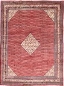 Sarough Mir Vloerkleed 282X382 Echt Oosters Handgeknoopt Bruin/Roestkleur Groot (Wol, Perzië/Iran)
