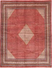 Sarough Mir Matto 307X400 Itämainen Käsinsolmittu Ruskea/Tummanpunainen Isot (Villa, Persia/Iran)