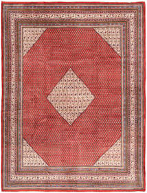 Sarouk Mir Rug 295X390 Authentic  Oriental Handknotted Light Brown/Brown Large (Wool, Persia/Iran)