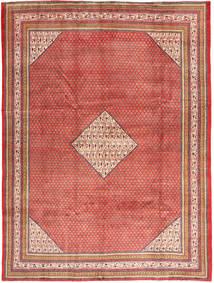Sarough Mir Matta 250X340 Äkta Orientalisk Handknuten Mörkröd/Ljusbrun Stor (Ull, Persien/Iran)