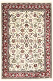 Kerman Sherkat Farsh Tapis 190X284 D'orient Fait Main Beige/Marron Clair (Laine, Perse/Iran)