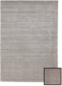 Bamboo Grass - Beige Rug 140X200 Modern Light Grey/White/Creme (Wool/Bamboo Silk, Turkey)