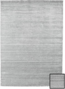 Bamboo Grass - Grey Rug 210X290 Modern Light Grey (Wool/Bamboo Silk, Turkey)