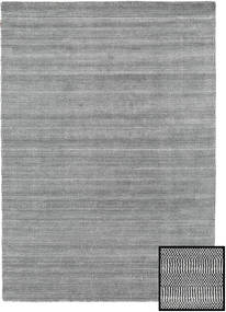 Bamboo Grass - Black_ Grey Rug 160X230 Modern Light Grey/Dark Grey (Wool/Bamboo Silk, Turkey)